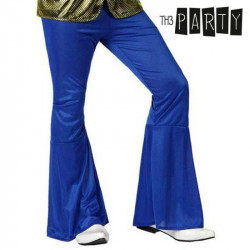 Adult Trousers Disco Blue